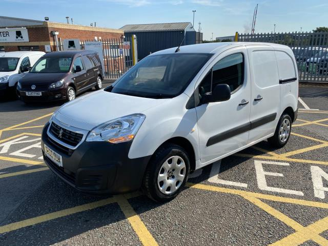 2016 Peugeot Partner 850 1.6 Bluehdi 100 Professional Van [Non Ss] Vehicle limited To 56mph (NV66OUA) Image 3