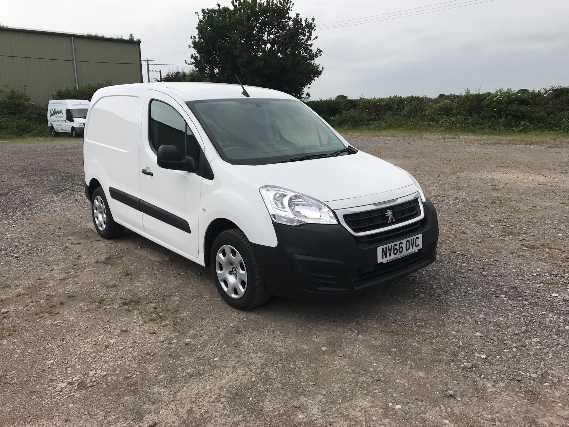 2016 Peugeot Partner 850 1.6 Bluehdi 100 Professional Van [Non Ss] (NV66OVC)