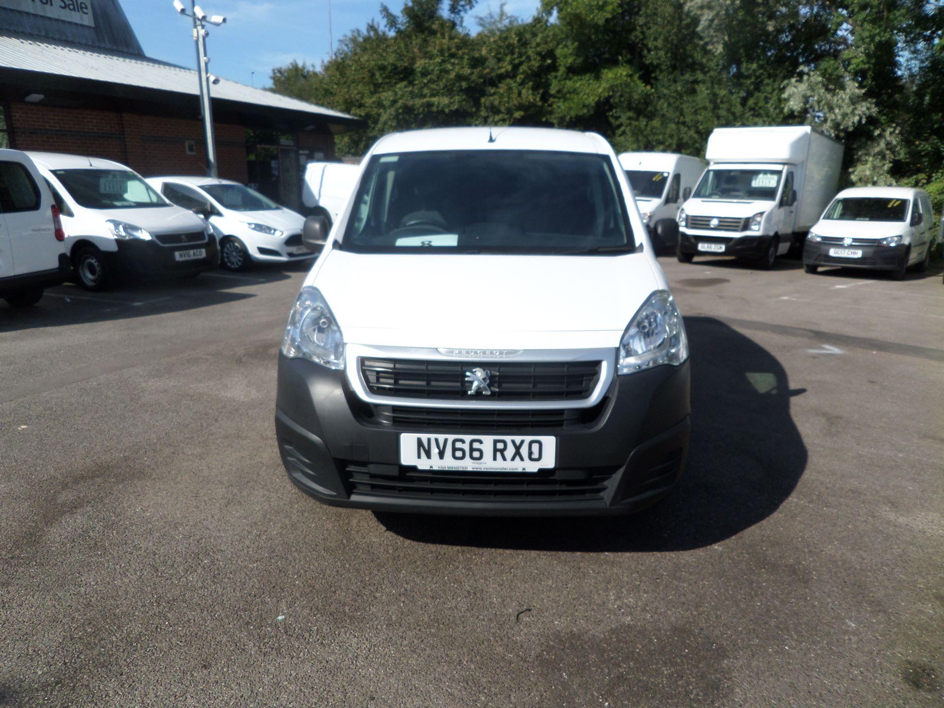 2017 Peugeot Partner 850 S 1.6 Hdi 92 Van [Sld] Euro 5 (NV66RXO) Image 10