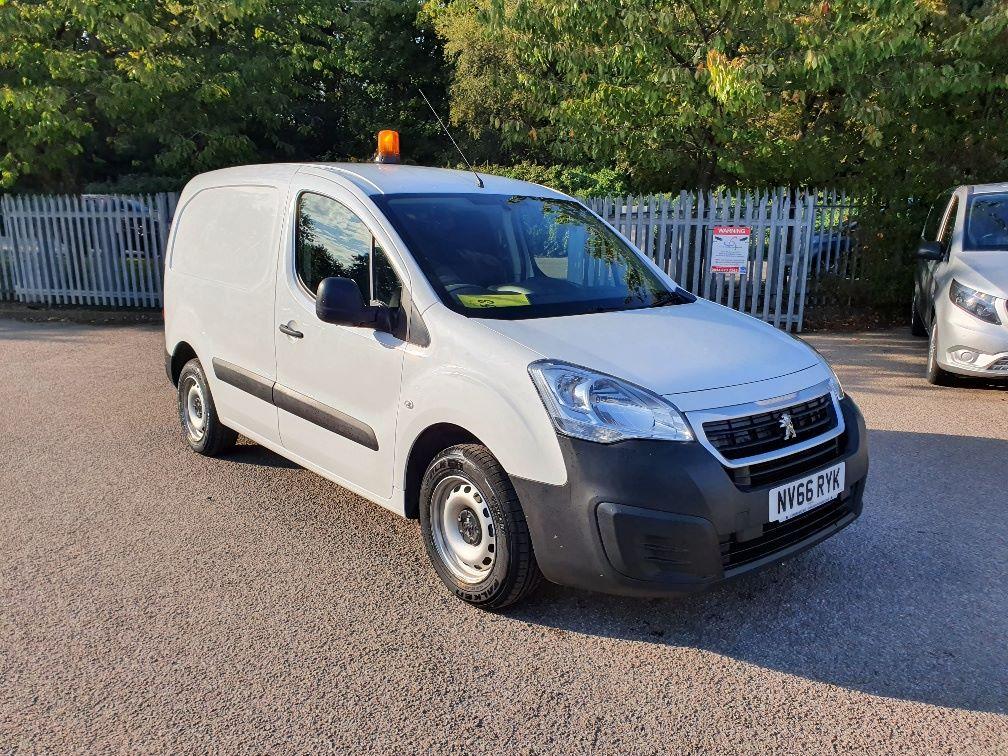 2017 Peugeot Partner 850 S 1.6 Hdi 92 Van [Sld] (NV66RYK)