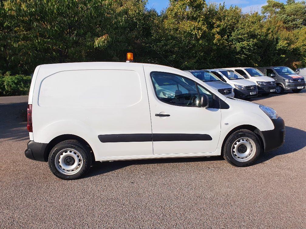 2017 Peugeot Partner 850 S 1.6 Hdi 92 Van [Sld] (NV66RYK) Image 4