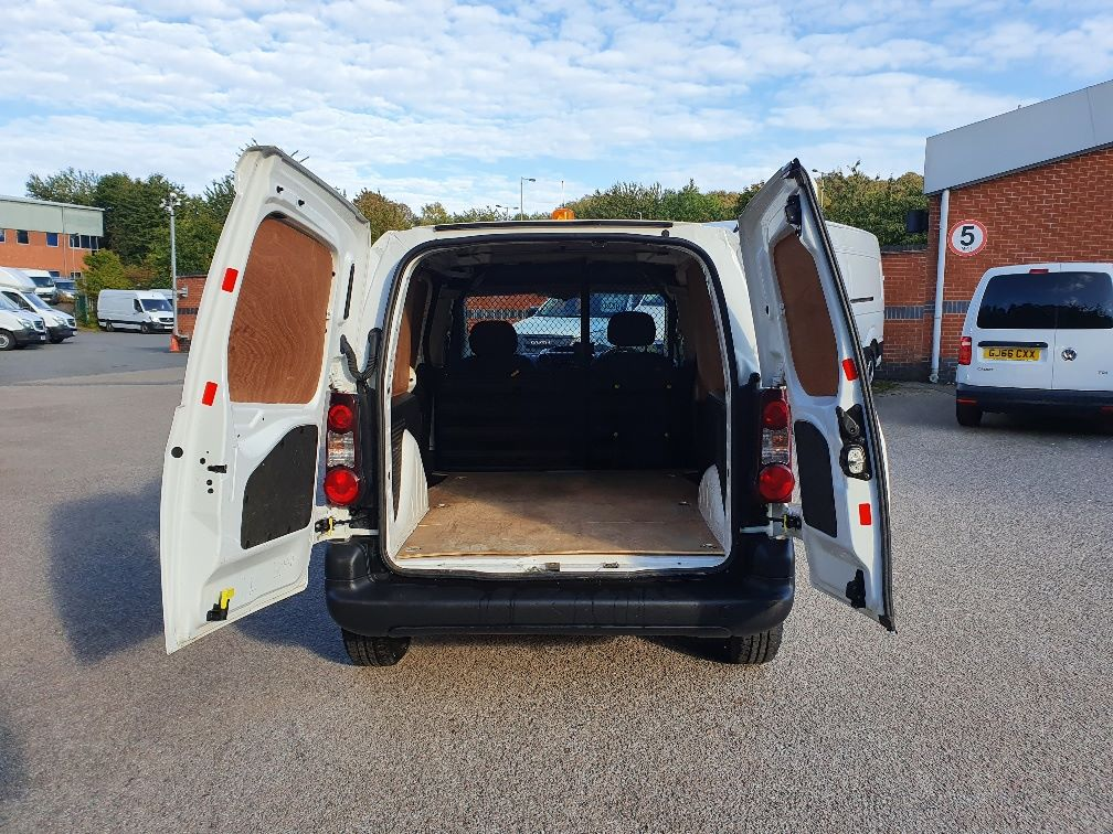 2017 Peugeot Partner 850 S 1.6 Hdi 92 Van [Sld] (NV66RYK) Image 10