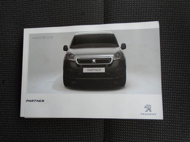 2017 Peugeot Partner L1 850 1.6 BLUEHDI 100 PROFESSIONAL (NON S/S)EURO 6 (NV66RYO) Image 50