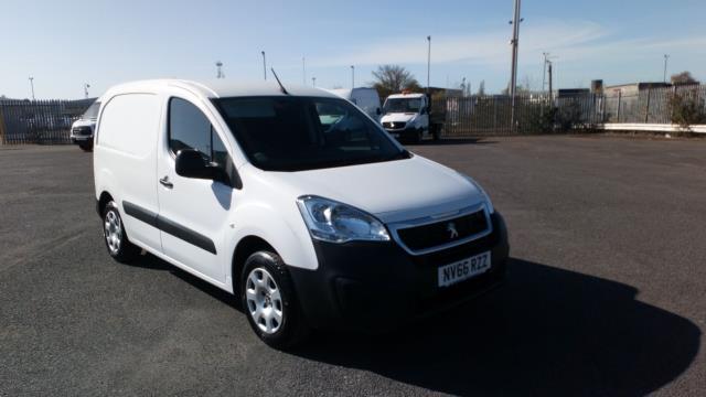 2017 Peugeot Partner 850 1.6 Bluehdi 100 Professional Van [Non Ss] (NV66RZZ)