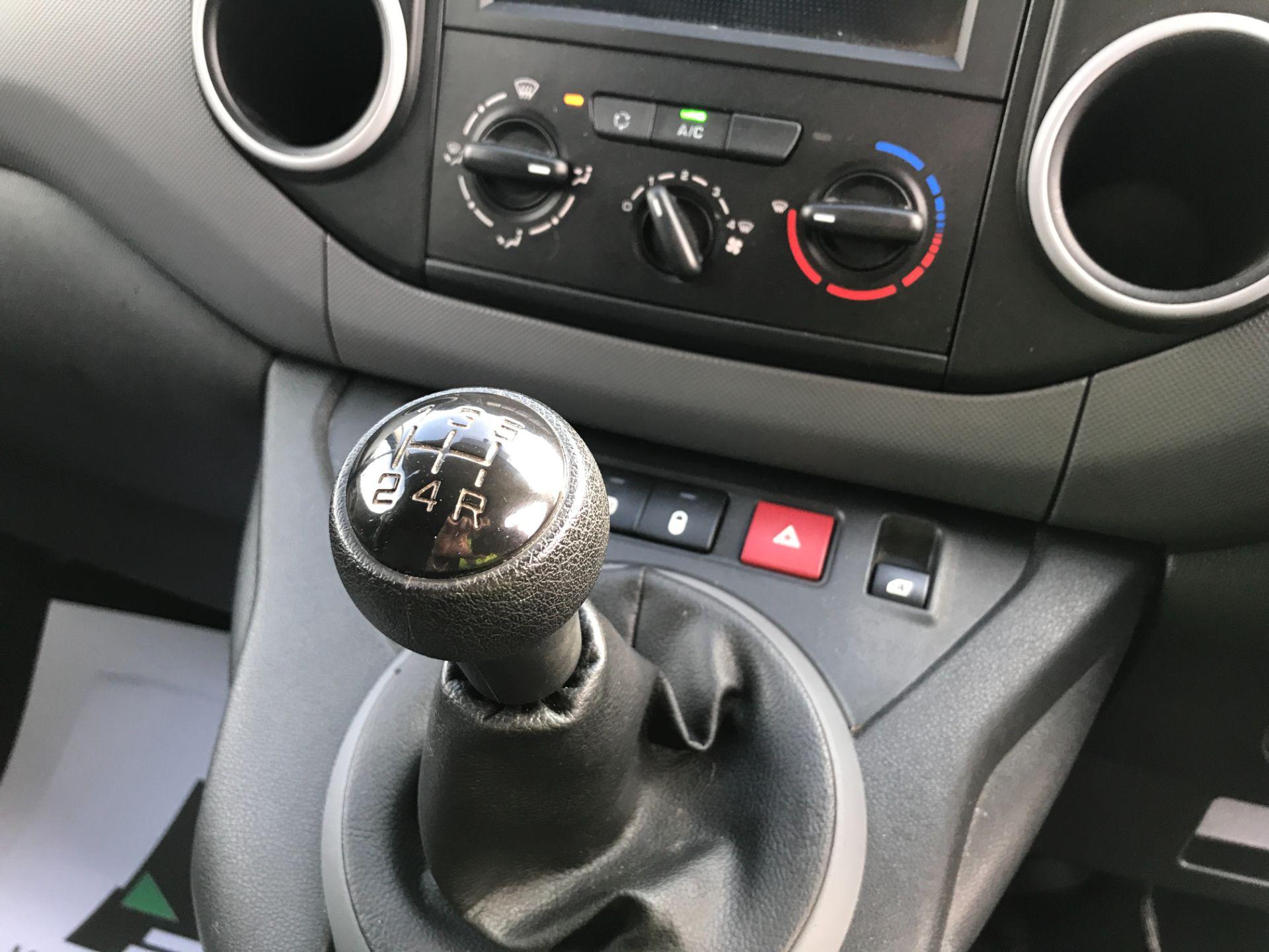 2017 Peugeot Partner L1 850 1.6BLUEHDI 100PS PROFESSIONAL EURO 6 (NV66WXW) Image 4