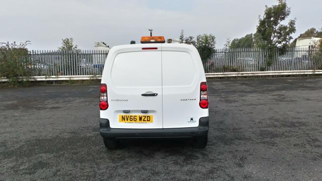 2017 Peugeot Partner 850 1.6 Bluehdi 100 Professional Van [Non Ss] (NV66WZD) Image 6