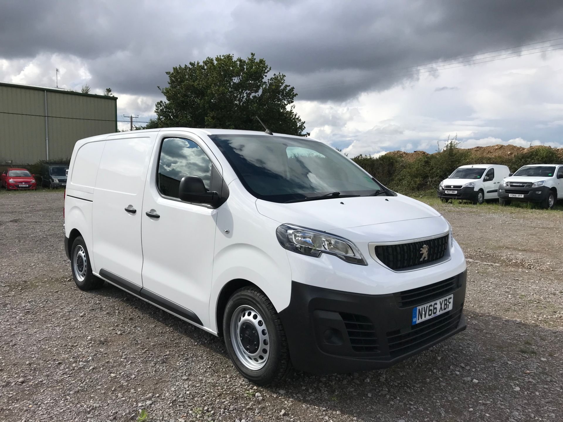 2017 Peugeot Expert 1000 1.6 Bluehdi 95 S Van (NV66XBF)
