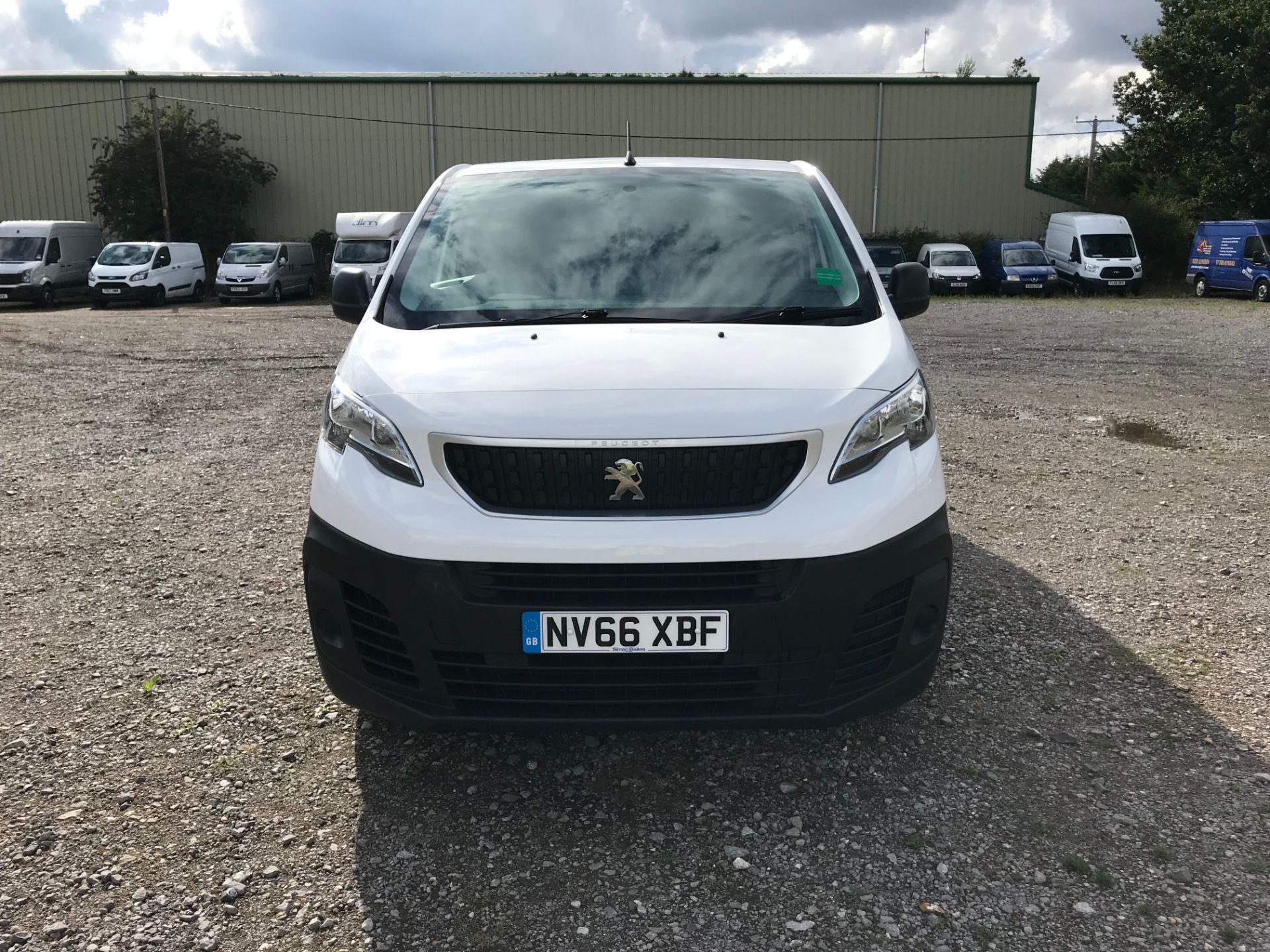 2017 Peugeot Expert 1000 1.6 Bluehdi 95 S Van (NV66XBF) Image 2