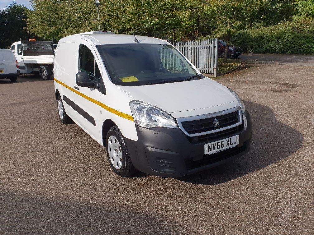 2017 Peugeot Partner 850 1.6 Bluehdi 100 Professional Van [Non Ss] (NV66XLJ) Image 1
