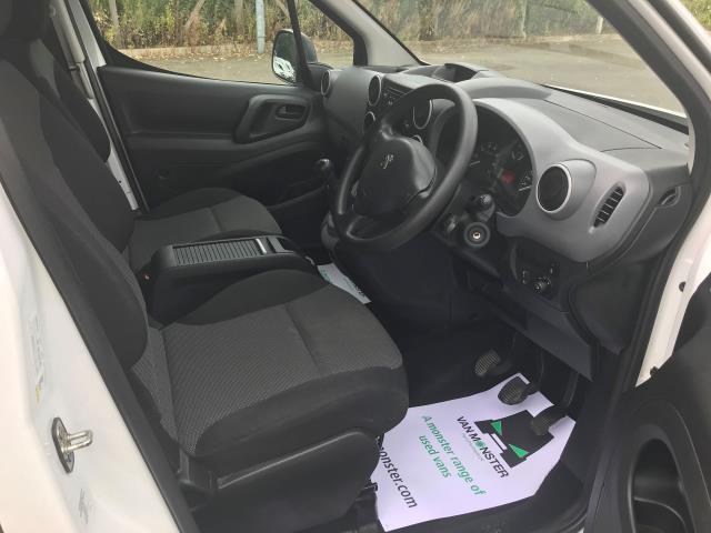 2017 Peugeot Partner  L2 750 S 1.6 BLUEHDI 100 EURO 6 (NV66XTN) Image 16