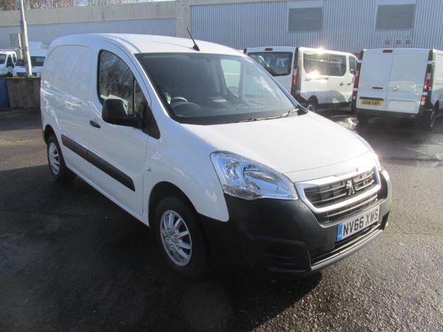 2017 Peugeot Partner L1 850 1.6 Bluehdi 100PS Professional Van [Non S/S] (NV66XWS)