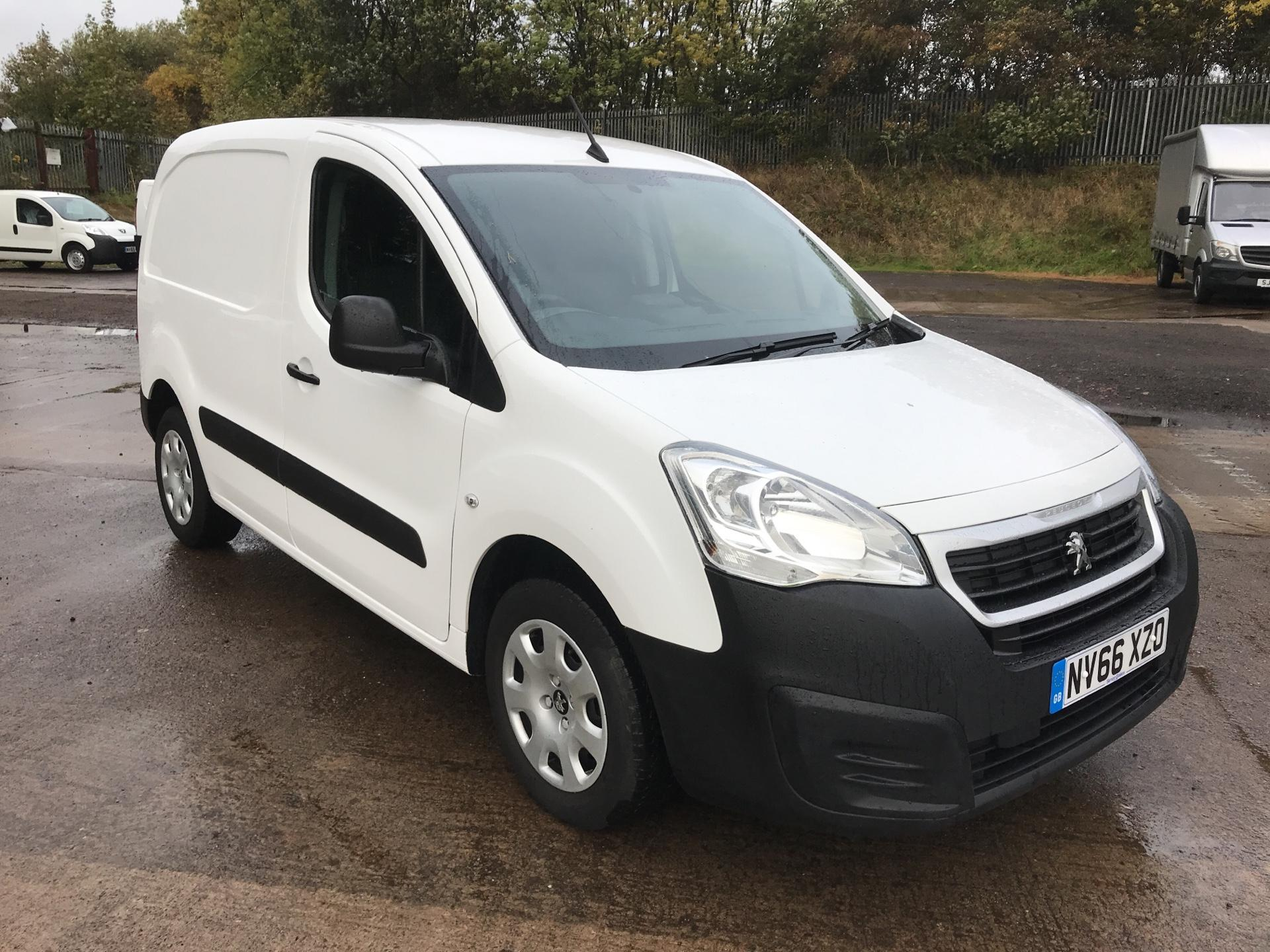 2017 Peugeot Partner L1 850 S 1.6 BLUEHDI 100PS PROFESSIONAL EURO 6 (NV66XZO)