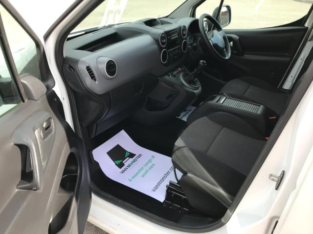 2018 Peugeot Partner 715 S 1.6 Bluehdi 100 Crew Van Euro 6 - Speed Limiter 70mph (NV67HNR) Image 26