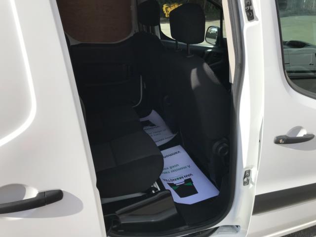 2018 Peugeot Partner 715 S 1.6 Bluehdi 100 Crew Van Euro 6 - Speed Limiter 70mph (NV67HNR) Image 34