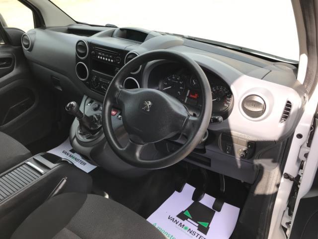 2018 Peugeot Partner 715 S 1.6 Bluehdi 100 Crew Van Euro 6 - Speed Limiter 70mph (NV67HNR) Image 13