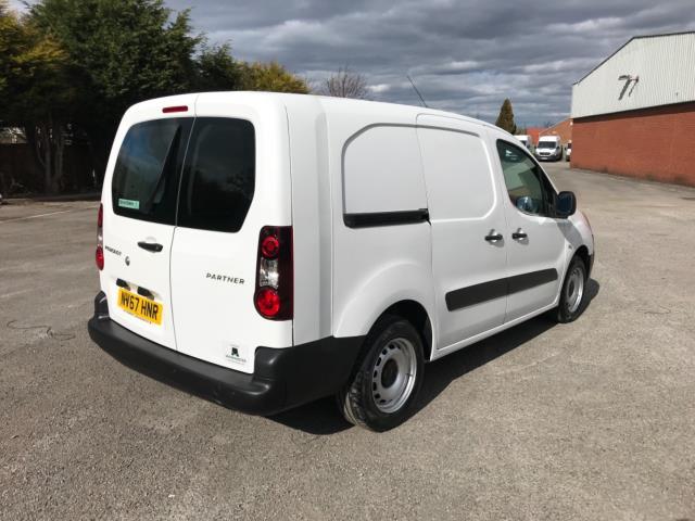 2018 Peugeot Partner 715 S 1.6 Bluehdi 100 Crew Van Euro 6 - Speed Limiter 70mph (NV67HNR) Image 8