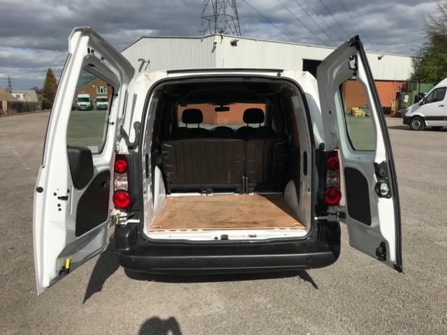 2018 Peugeot Partner 715 S 1.6 Bluehdi 100 Crew Van Euro 6 - Speed Limiter 70mph (NV67HNR) Image 36
