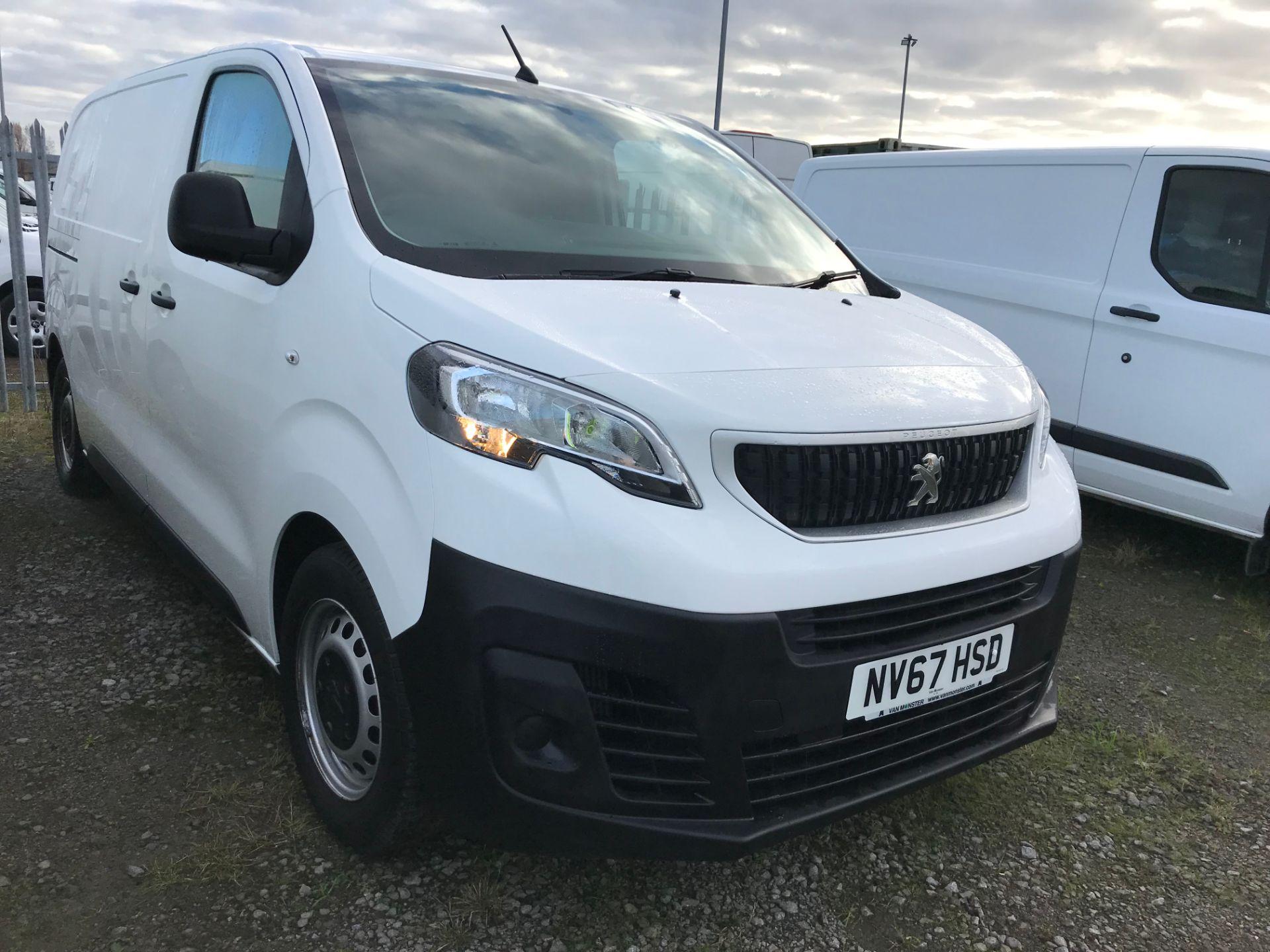 2018 Peugeot Expert 1000 1.6 Bluehdi 95 S Van (NV67HSD)
