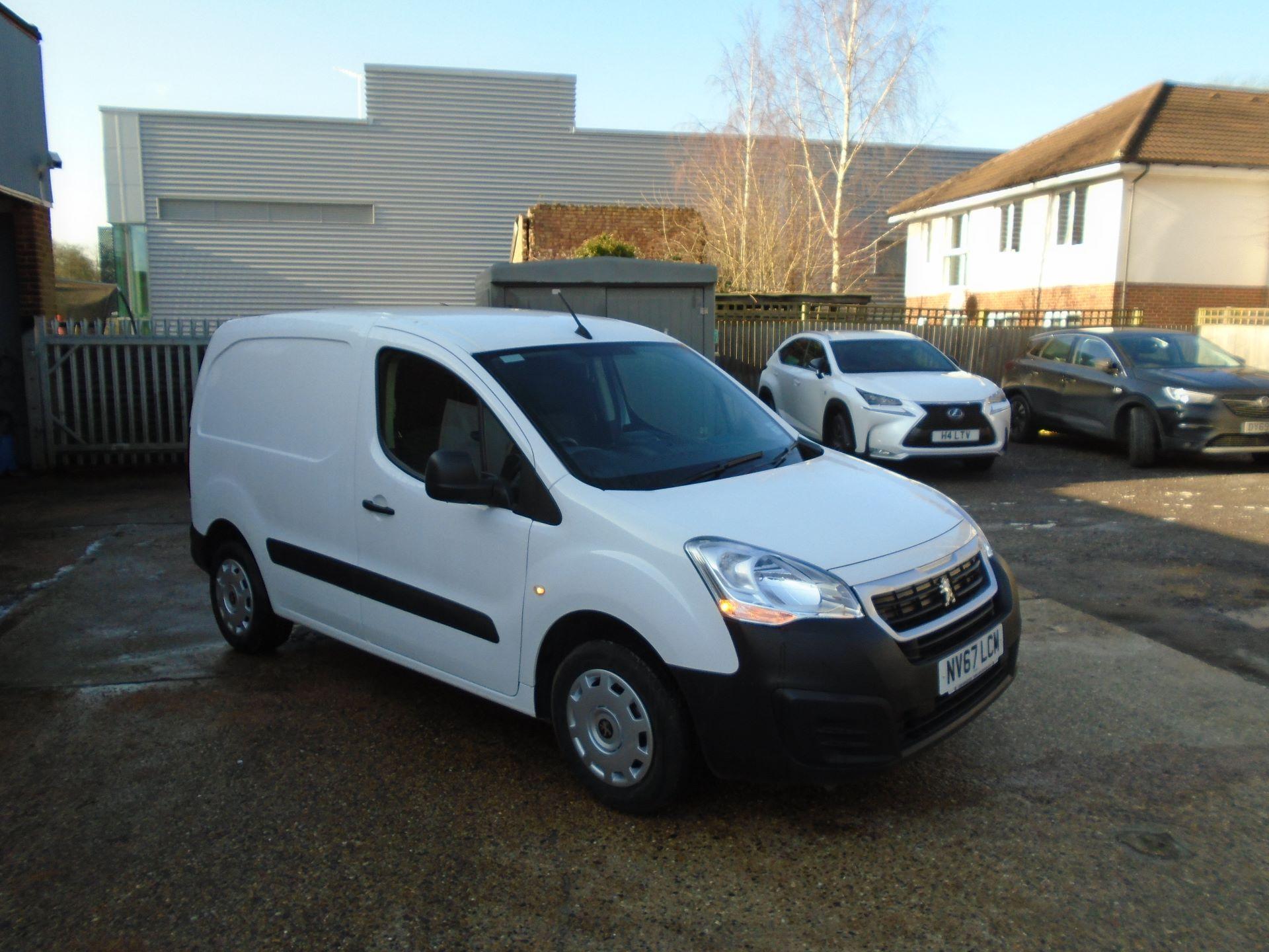 2018 Peugeot Partner 850 1.6 Bluehdi 100 Professional Van [Non Ss]EURO 6 (NV67LCM)