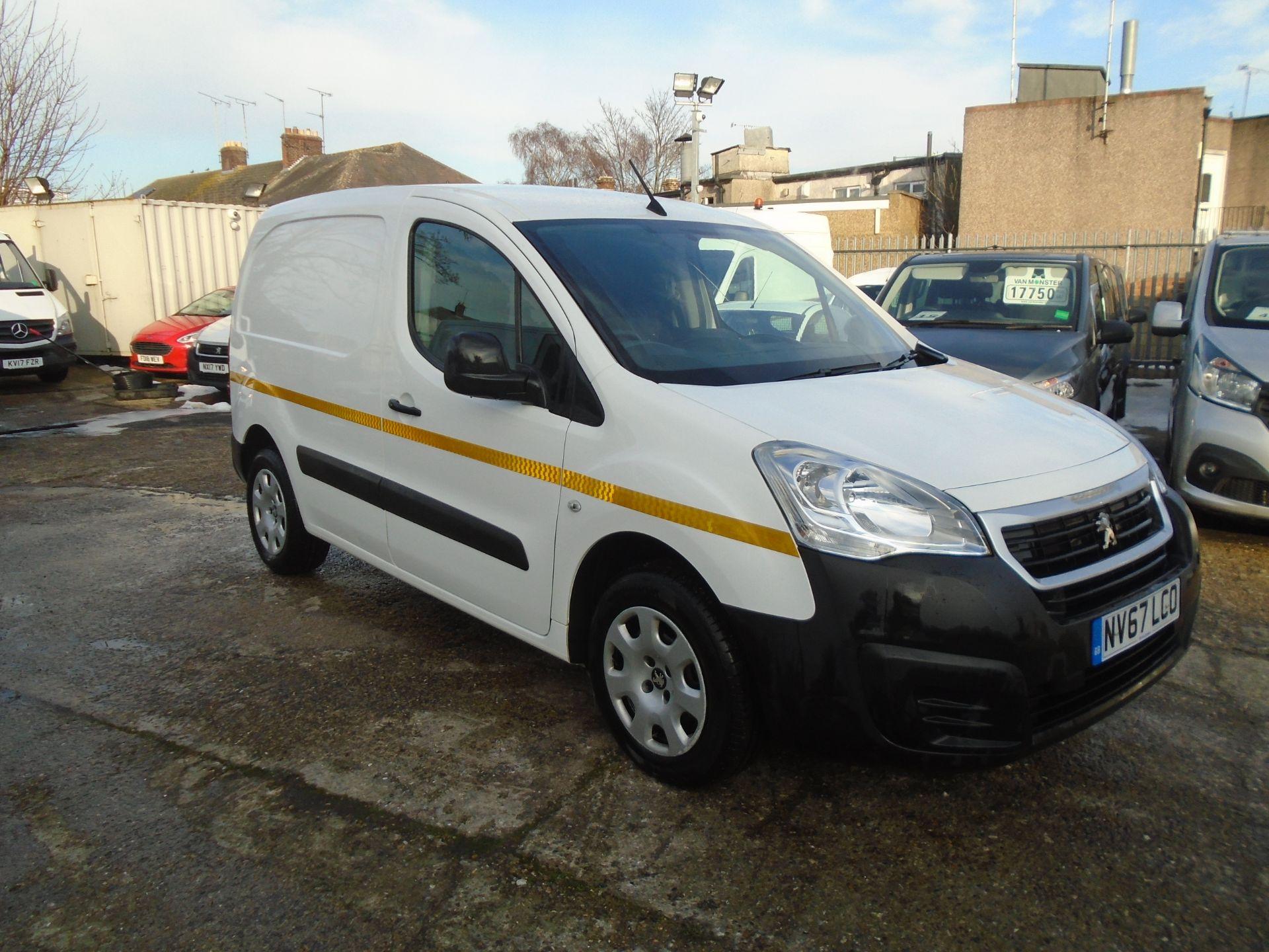 2018 Peugeot Partner 850 1.6 Bluehdi 100 Professional Van [Non Ss] *EURO 6* (NV67LCO)