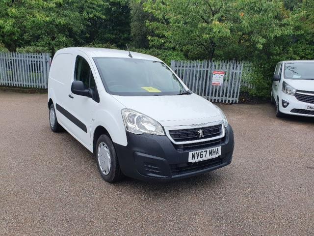 2018 Peugeot Partner 850 1.6 Bluehdi 100 Professional Van [Non Ss] (NV67MHA)
