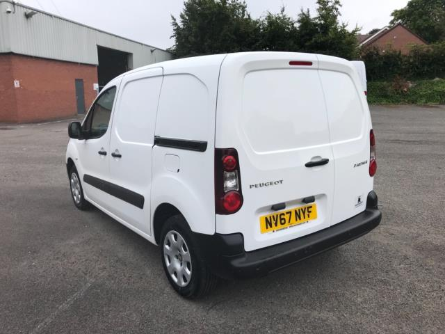 2018 Peugeot Partner 850 1.6 Bluehdi 100 Professional Van [Non Ss] Euro 6 (NV67NYF) Image 5