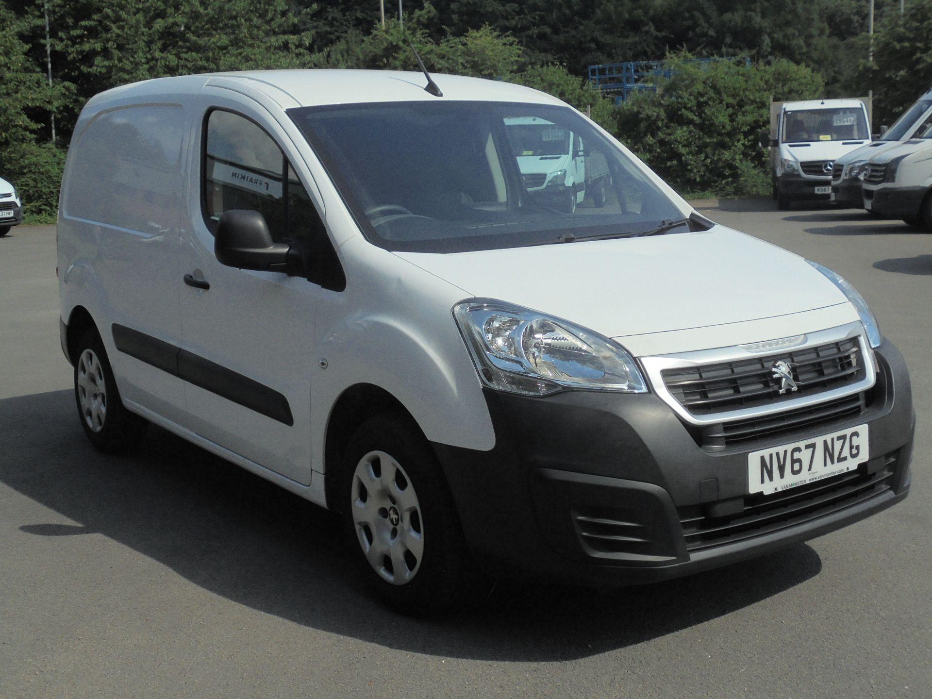 2018 Peugeot Partner 850 1.6 Bluehdi 100 Professional Van [Non Ss] (NV67NZG)