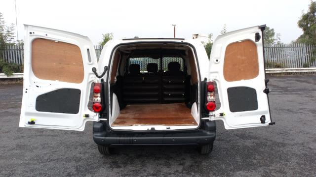 2018 Peugeot Partner 850 1.6 Bluehdi 100 Professional Van [Non Ss] (NV67OYA) Image 10