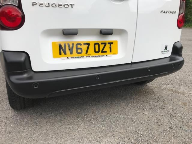 2018 Peugeot Partner 850 1.6 Bluehdi 100 Professional Van [Non Ss] Euro 6 (NV67OZT) Image 44