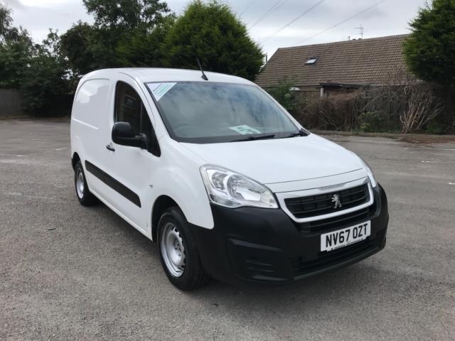 2018 Peugeot Partner 850 1.6 Bluehdi 100 Professional Van [Non Ss] Euro 6 (NV67OZT) Image 1
