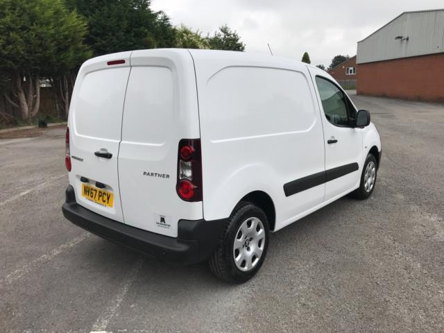 2018 Peugeot Partner 850 1.6 Bluehdi 100 Professional Van [Non Ss] Euro 6 (NV67PCY) Image 7