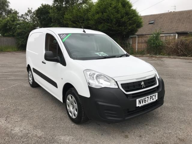2018 Peugeot Partner 850 1.6 Bluehdi 100 Professional Van [Non Ss] Euro 6 (NV67PCY) Image 1