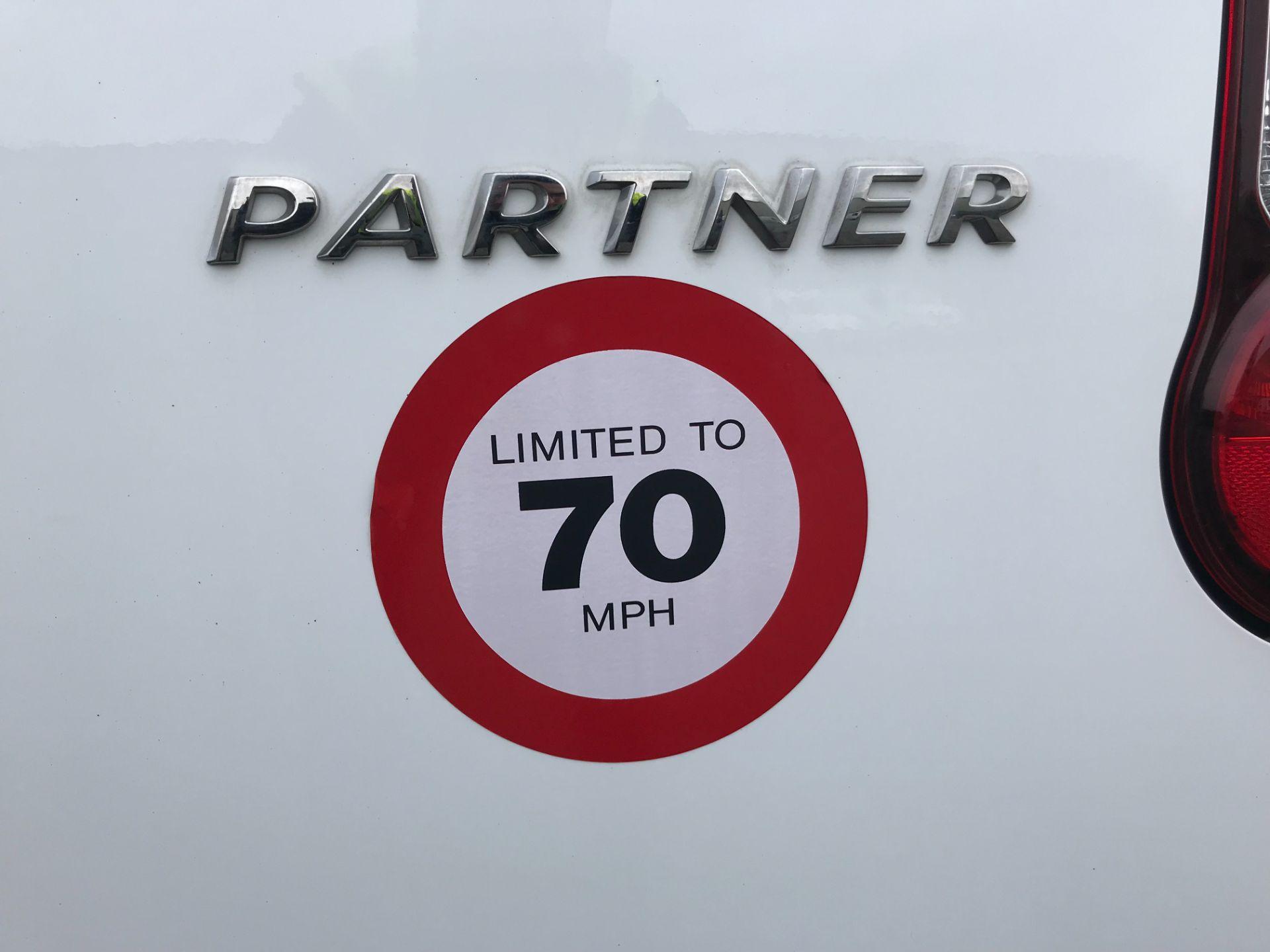 2018 Peugeot Partner  L2 715 S 1.6 BLUEHDI 100 CREW VAN EURO 6 *Restricted to 70MPH* (NV67PZC) Image 42