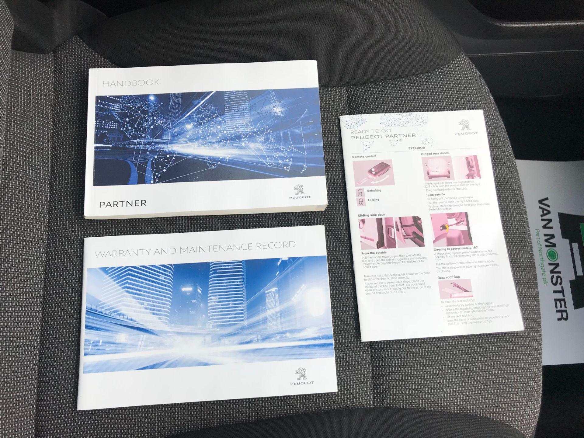 2018 Peugeot Partner  L2 715 S 1.6 BLUEHDI 100 CREW VAN EURO 6 *Restricted to 70MPH* (NV67PZC) Image 40