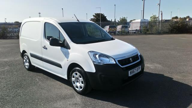 2018 Peugeot Partner 850 1.6 Bluehdi 100 Professional Van [Non Ss] Limited To 70MPH  (NV67UFP)