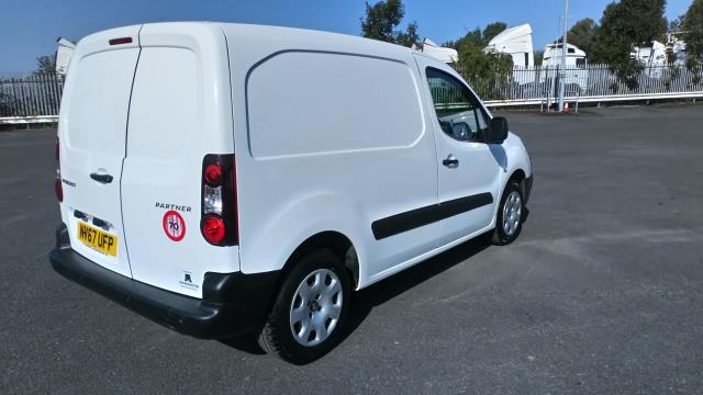 2018 Peugeot Partner 850 1.6 Bluehdi 100 Professional Van [Non Ss] Limited To 70MPH  (NV67UFP) Image 7