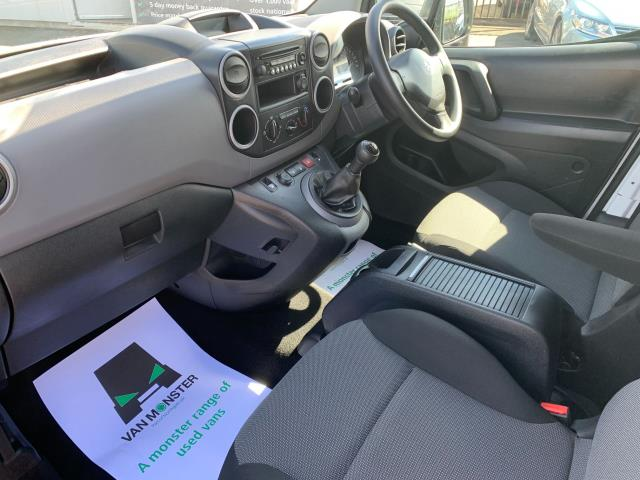 2018 Peugeot Partner L2 750 S 1.6 Blue HDI 100 Van (Non S/S) Euro 6 (NV67UOT) Image 4