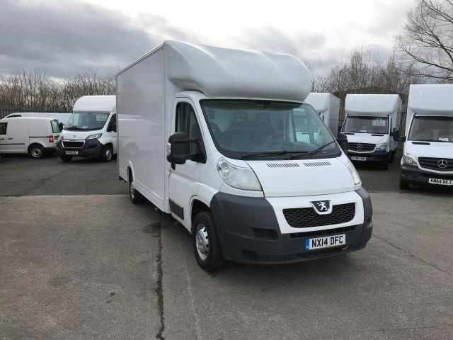 2014 Peugeot Boxer  335 13FT LUTON 130PS LOW LOADER  (NX14DFC)
