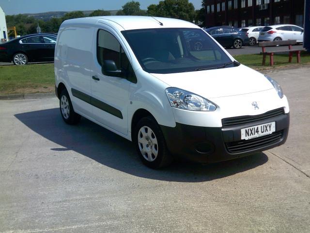 2014 Peugeot Partner 850 S 1.6 Hdi 92 Van [Sld] EURO 5 (NX14UXY)