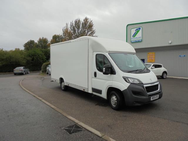 2015 Peugeot Boxer  335 LUTON LOW LOADER 130PS  (NX15AYU)