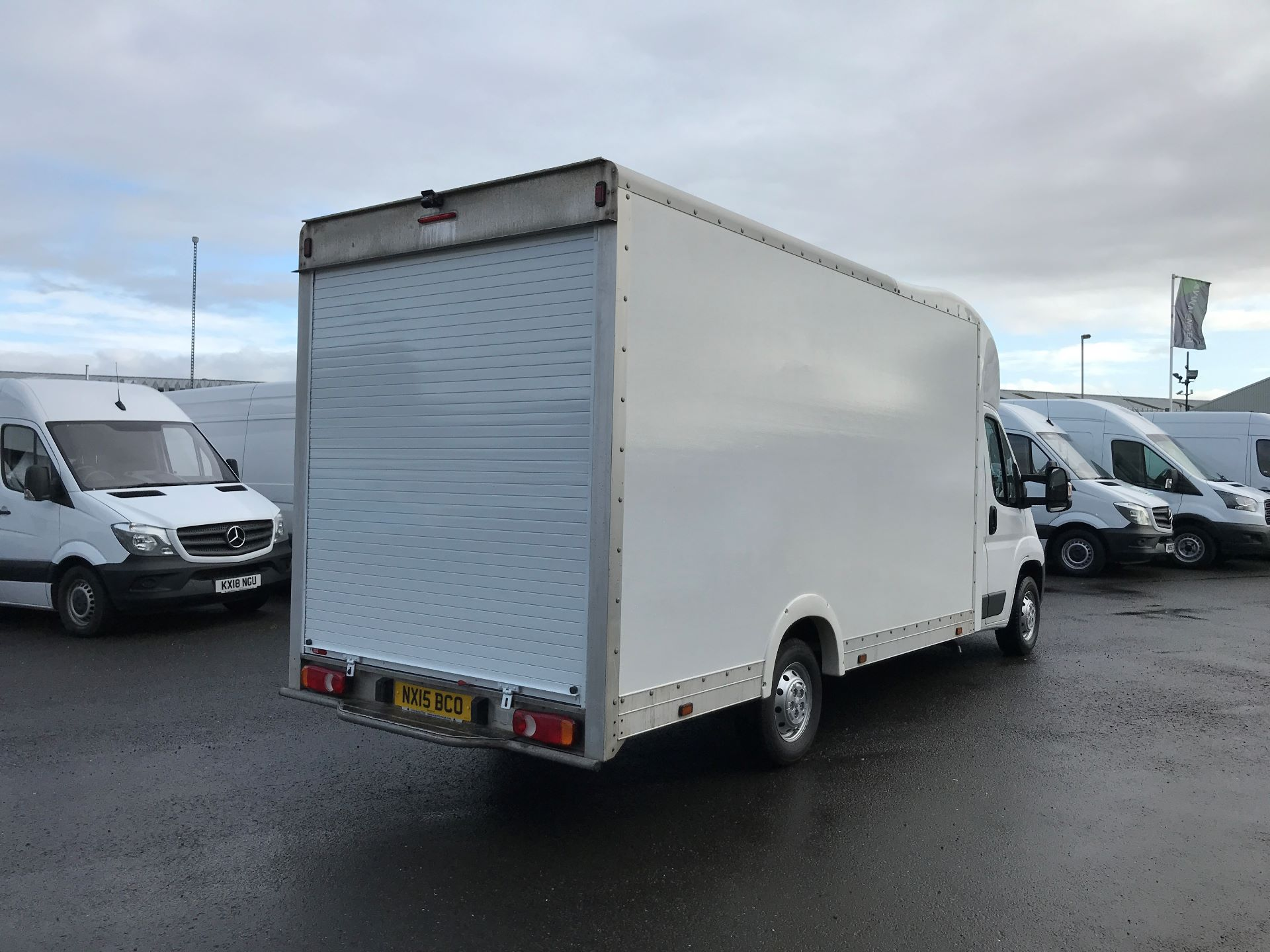 2015 Peugeot Boxer 335 L3 2.2 HDI 130PS LUTON LOW LOADER (NX15BCO) Thumbnail 8