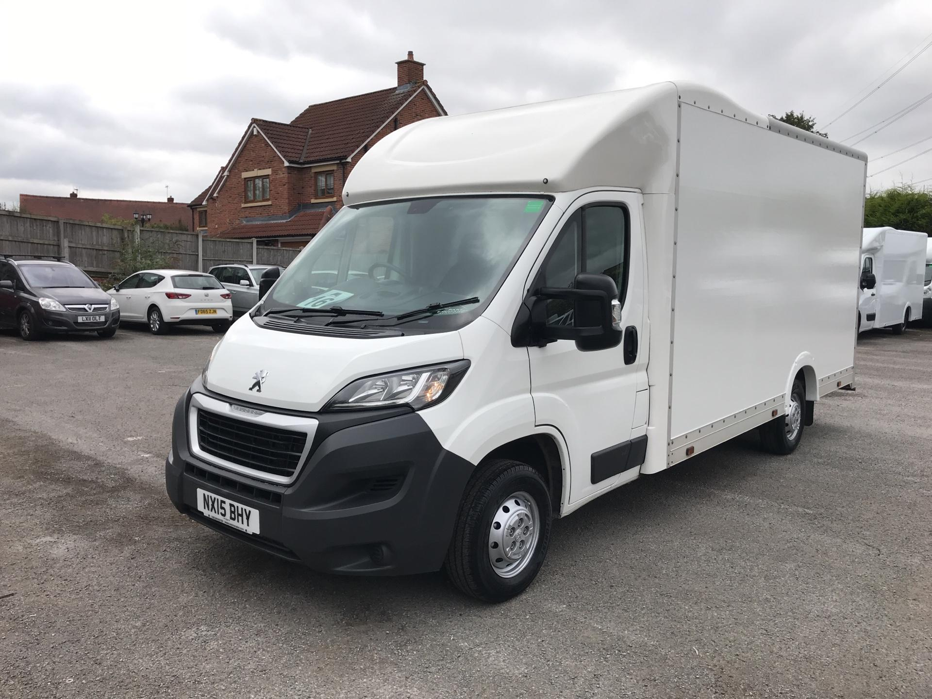 2015 Peugeot Boxer 2.2 Hdi LUTON LOW LOADER 130Ps (NX15BHY) Image 7