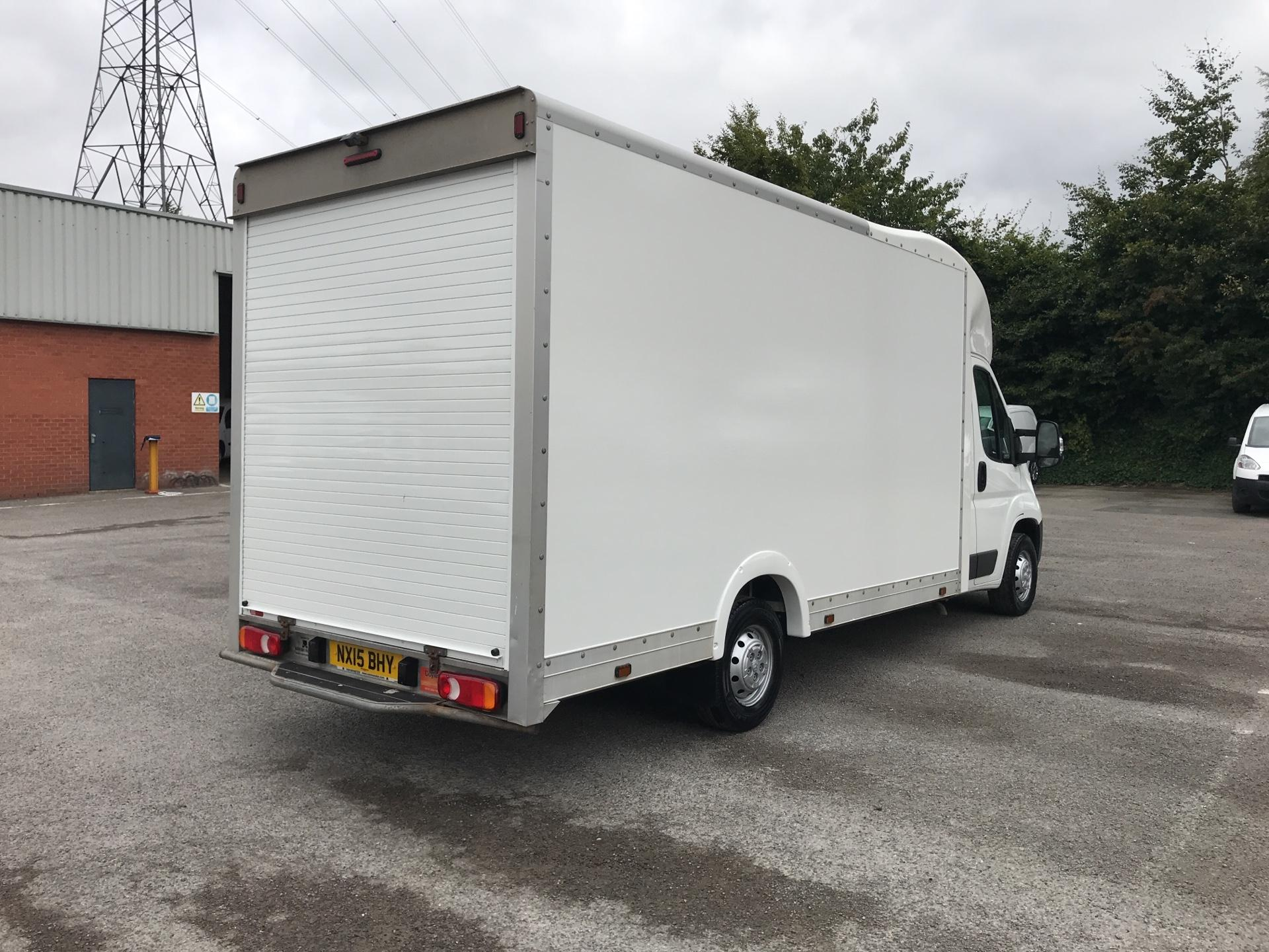 2015 Peugeot Boxer 2.2 Hdi LUTON LOW LOADER 130Ps (NX15BHY) Image 3
