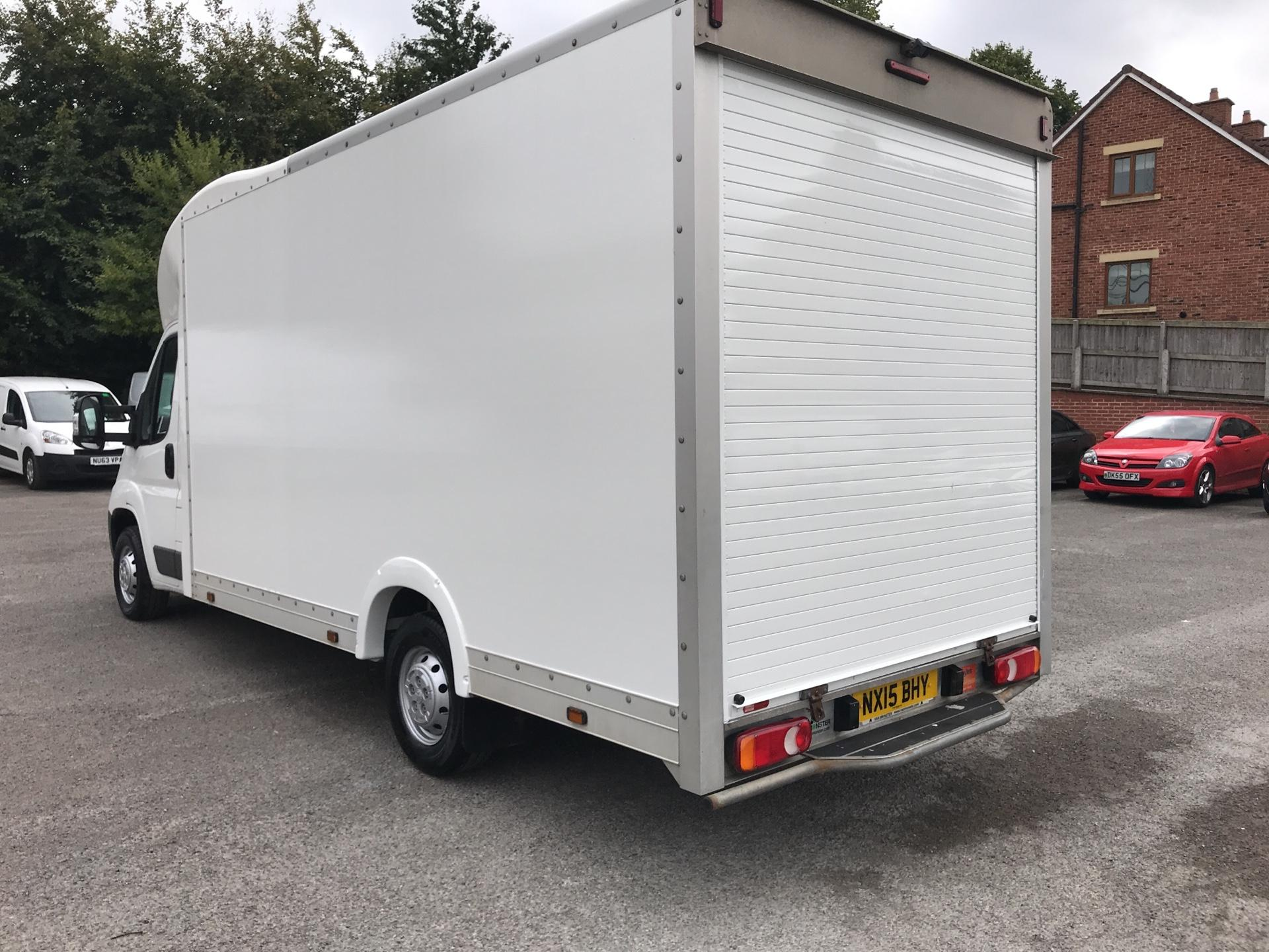 2015 Peugeot Boxer 2.2 Hdi LUTON LOW LOADER 130Ps (NX15BHY) Image 5
