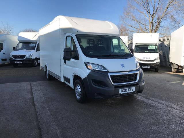 2015 Peugeot Boxer  335 13FT LUTON 130PS LOW LOADER  (NX15EVG)