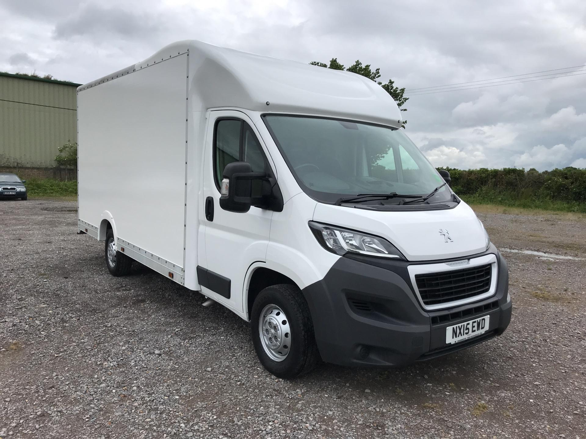 2015 Peugeot Boxer  335 13FT LUTON 130PS LOW LOADER EURO 5 (NX15EWD)