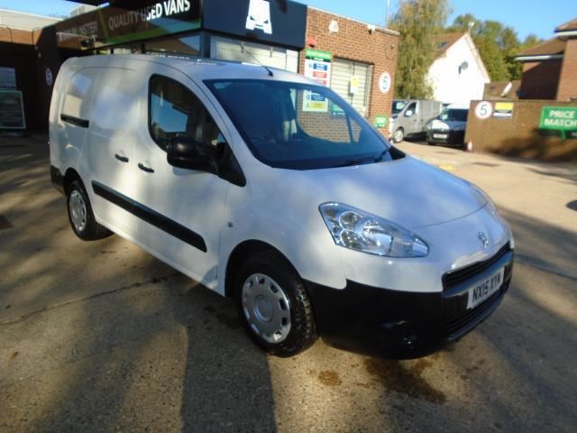2015 Peugeot Partner 716 S 1.6 Hdi 92 Crew Van (NX15XYM)