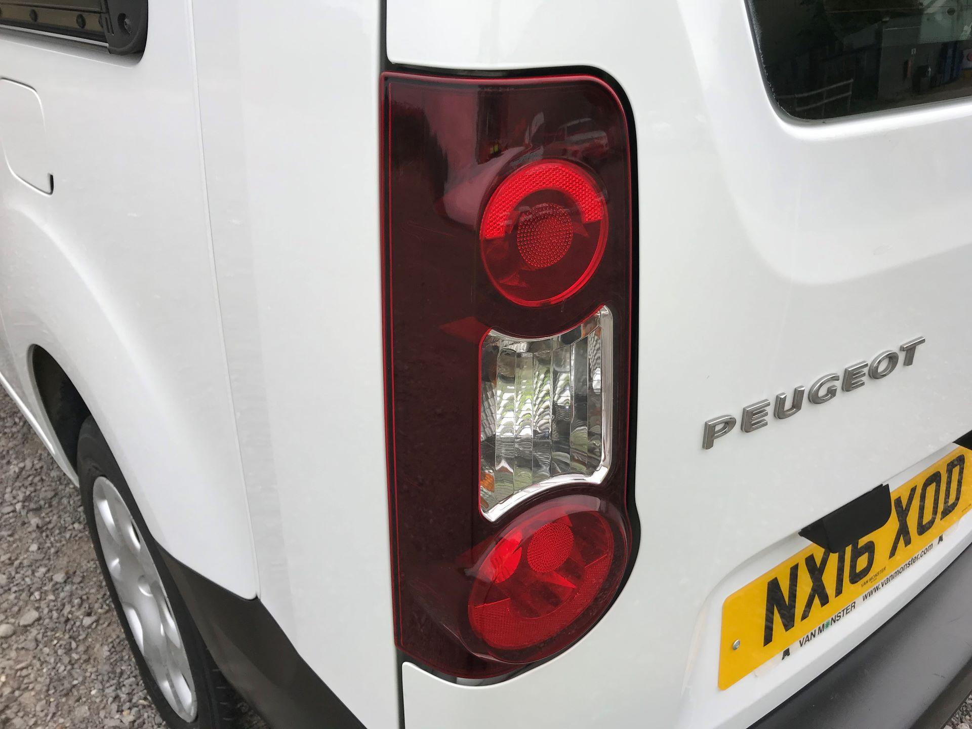 2016 Peugeot Partner L2 715 S 1.6 92PS CREW VAN EURO 5 (NX16XOD) Image 30
