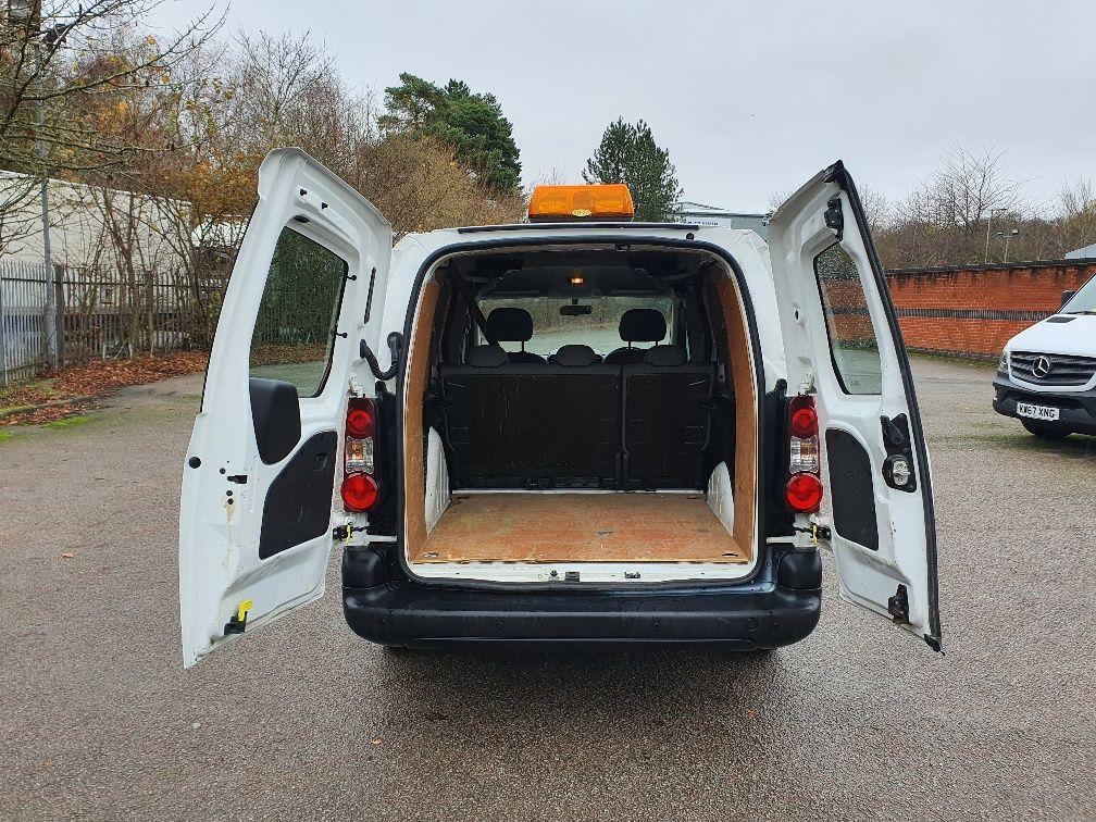 2016 Peugeot Partner 715 S 1.6 Hdi 92 Crew Van (NX16XXF) Image 13