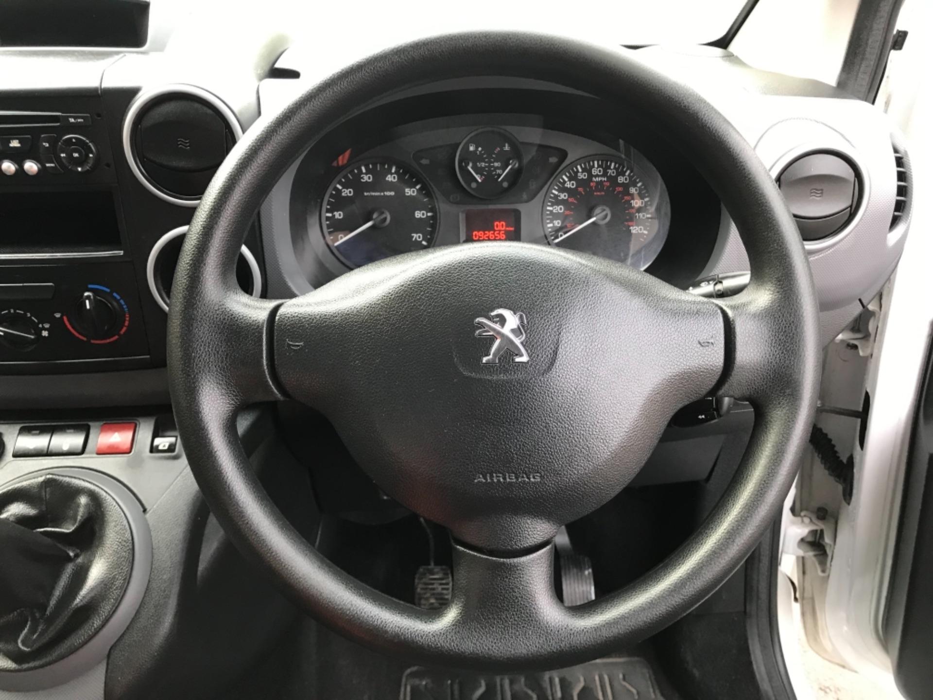 2016 Peugeot Partner L1 850 S 1.6 92PS (SLD) EURO 5 (NX16XXM) Image 13